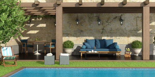 The benefits of a Pergola for your pool outdoor area